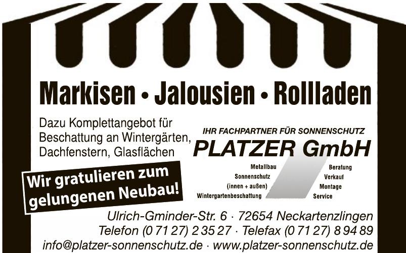 Platzer GmbH