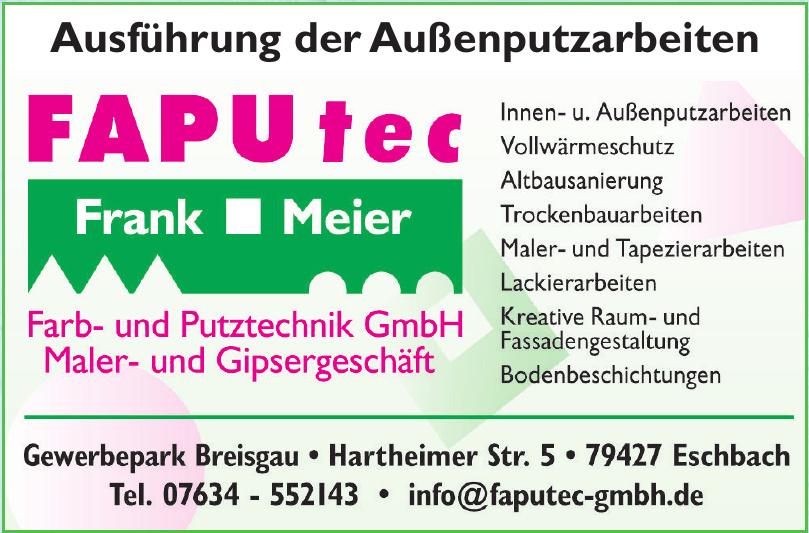Farb- und Putztechnik GmbH Maler- und Gipsergeschäft