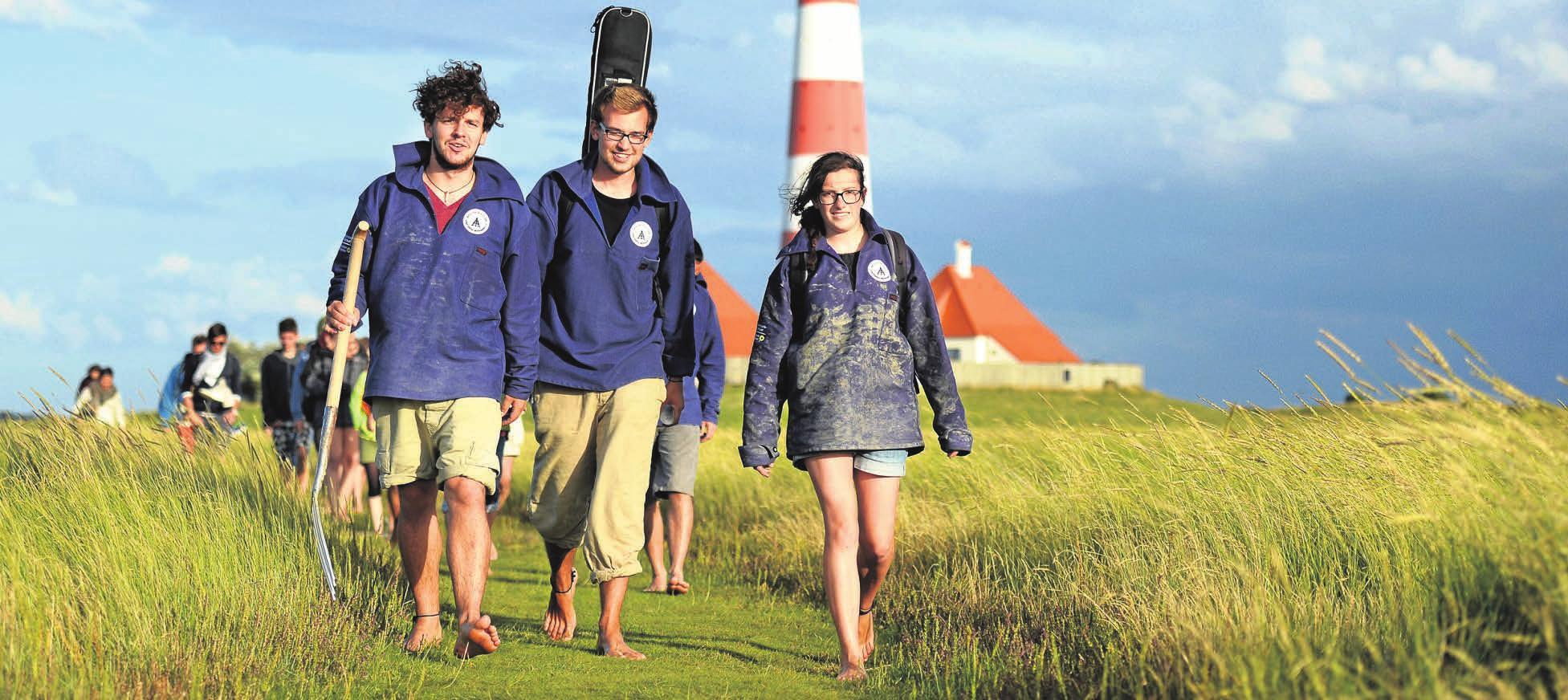 Die Uni gegen den Nationalpark tauschen: Das geht, wenn Studenten im Gap Year ein Freiwilliges Ökologisches Jahr machen. FOTO: DANIEL REINHARDT/DPA-TMN