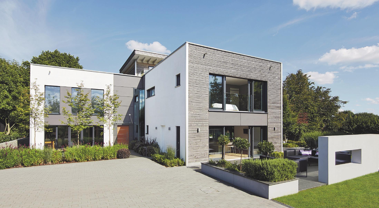 Ökologisch und exklusiv bauen. Foto: Baufritz