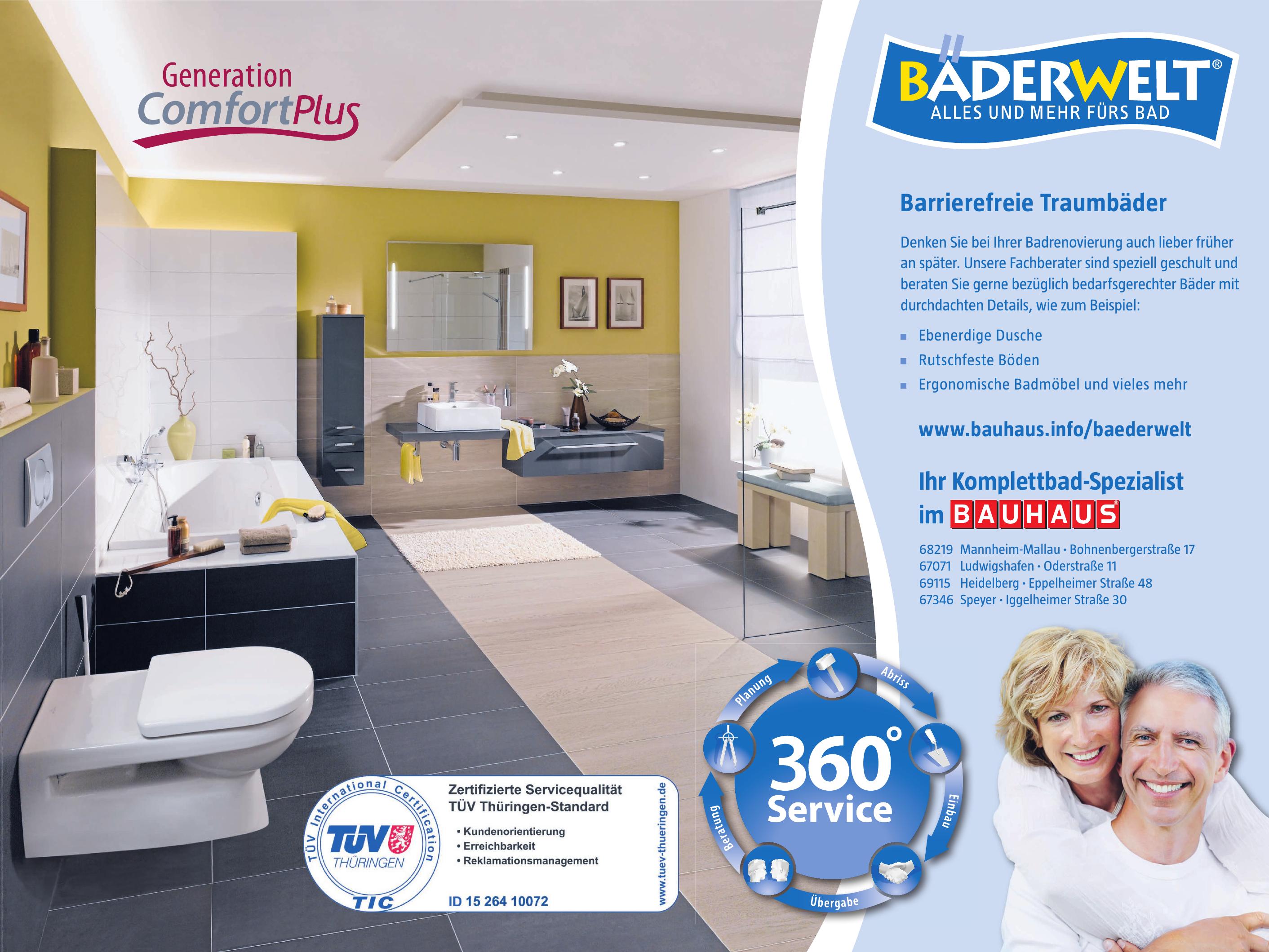 Bauhaus GmbH - Baderwelt