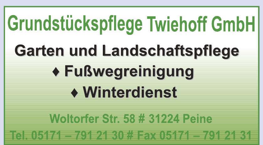 Grundstückspflege Twiehoff GmbH