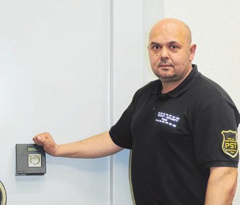 Für Geschäftsführer Danijel Puskaric steht Sicherheit an erster Stelle.
