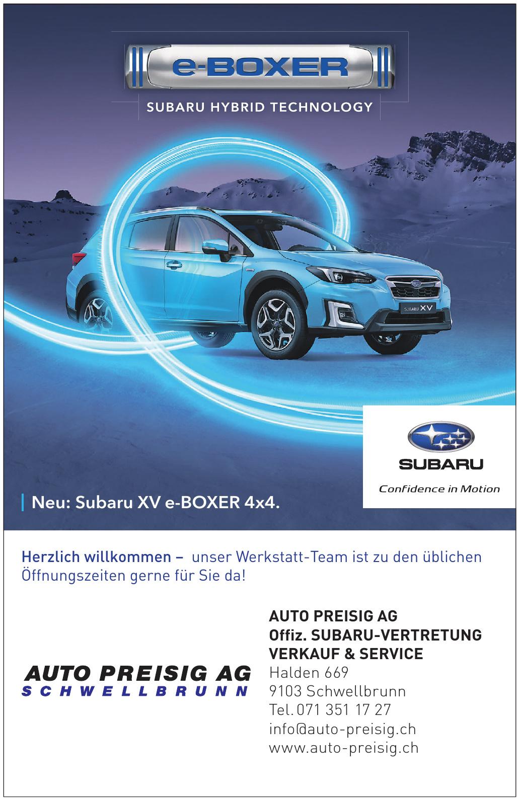 Auto Preisig AG