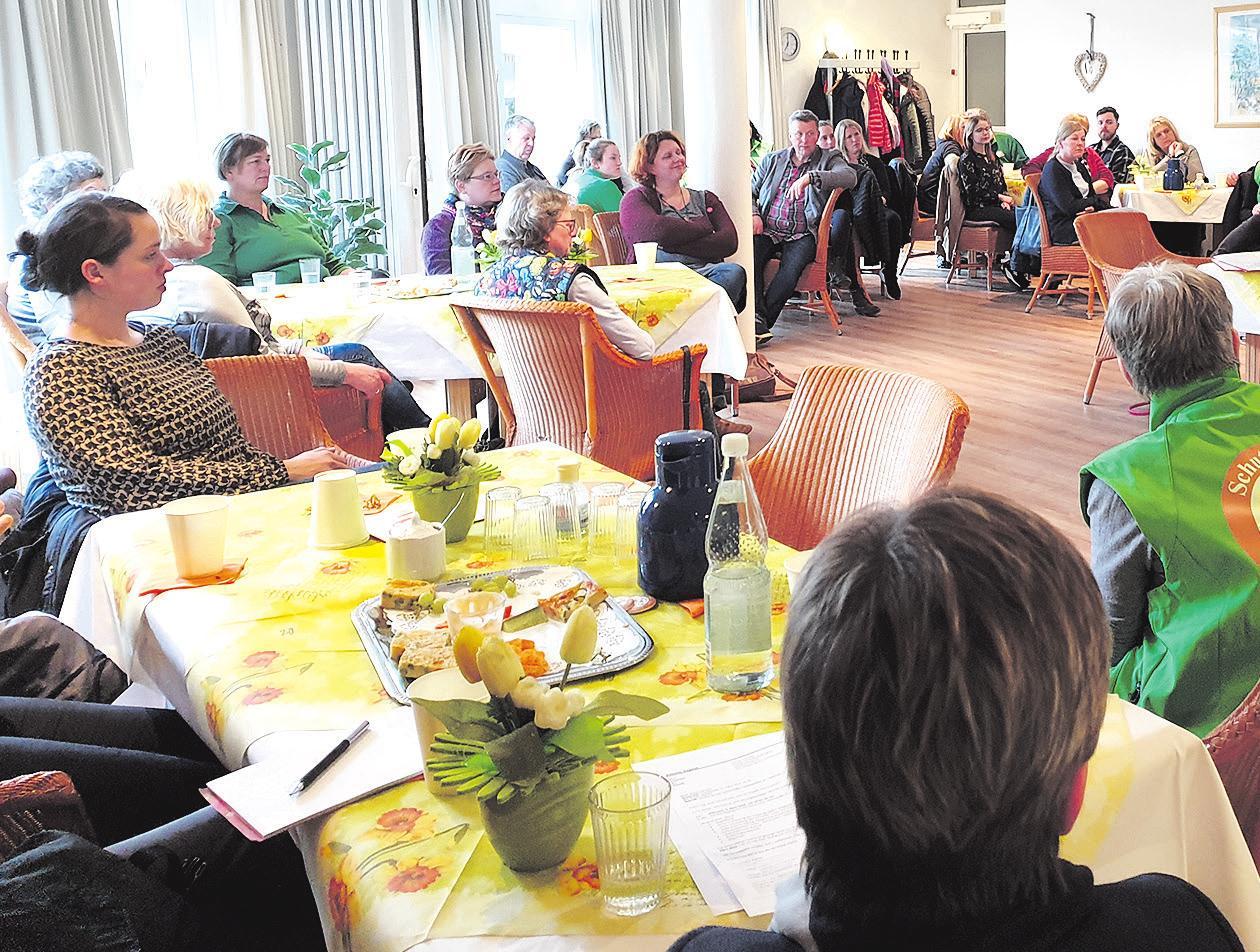 Beim Treffen der SchutzCellen. Foto: ©Monika Rietze
