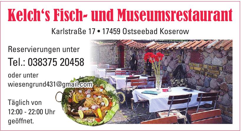 Kelch's Fisch- und Museumsrestaurant