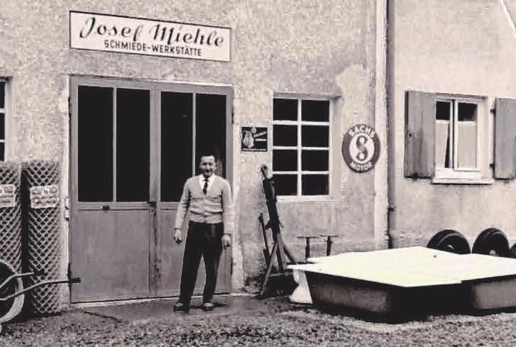 Den Grundstein zum Betrieb hat Josef Miehle gelegt.  FOTO: PRIVAT