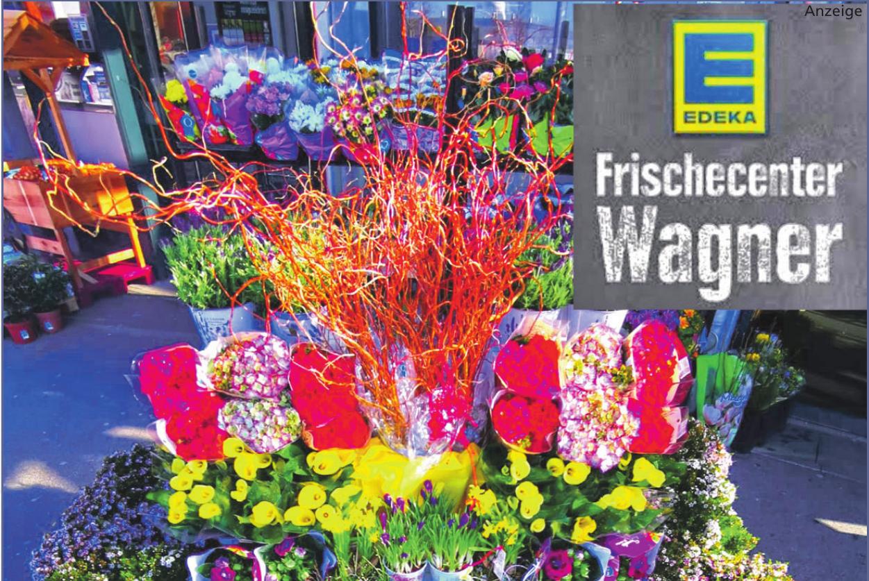 Das Edeka Frischecenter Wagner bietet das Beste aus der Region und noch vieles mehr. Auch frische Schnittblumen und Frühblüher finden sich im Sortiment. Foto: Edeka Wagner