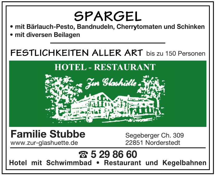 Hotel-Restaurant Zur Glashütte