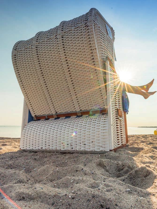 Die Seele baumeln lassen am Timmendorfer Strand. Fotos: www.ostsee-schleswig-holstein.de / Oliver Franke