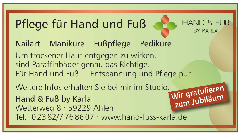 Hand&Fuß by Karla