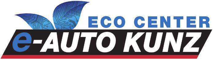 Neues Logo für das Eco Center zeigt, wie ernst es Auto Kunz mit der Elektromobilität ist.