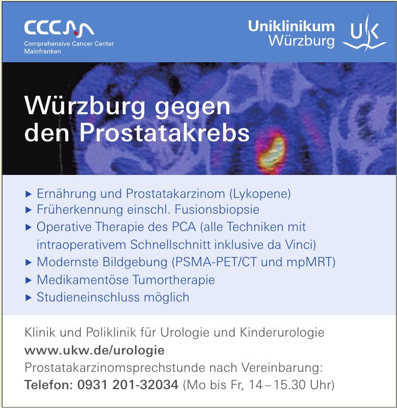 Uniklinikum Würzburg - Klinik und Poliklinik für Urologie und Kinderurologie