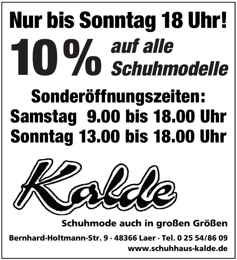 Schuhhaus Kalde
