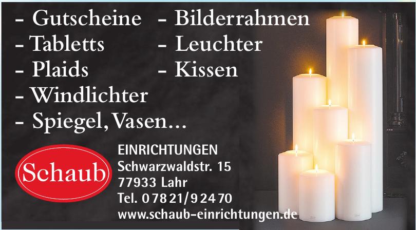 Ernst Schaub Einrichtungen