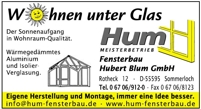 Hum Meisterbetrieb Fensterbau Hubert Blum GmbH