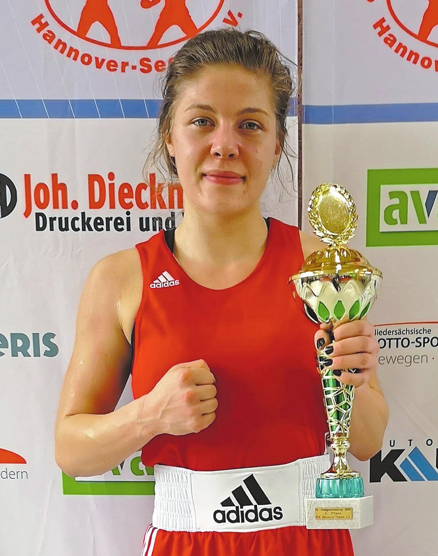 Leonie Coleman, Boxen Frauen, 3. Platz Deutsche Meisterschaft