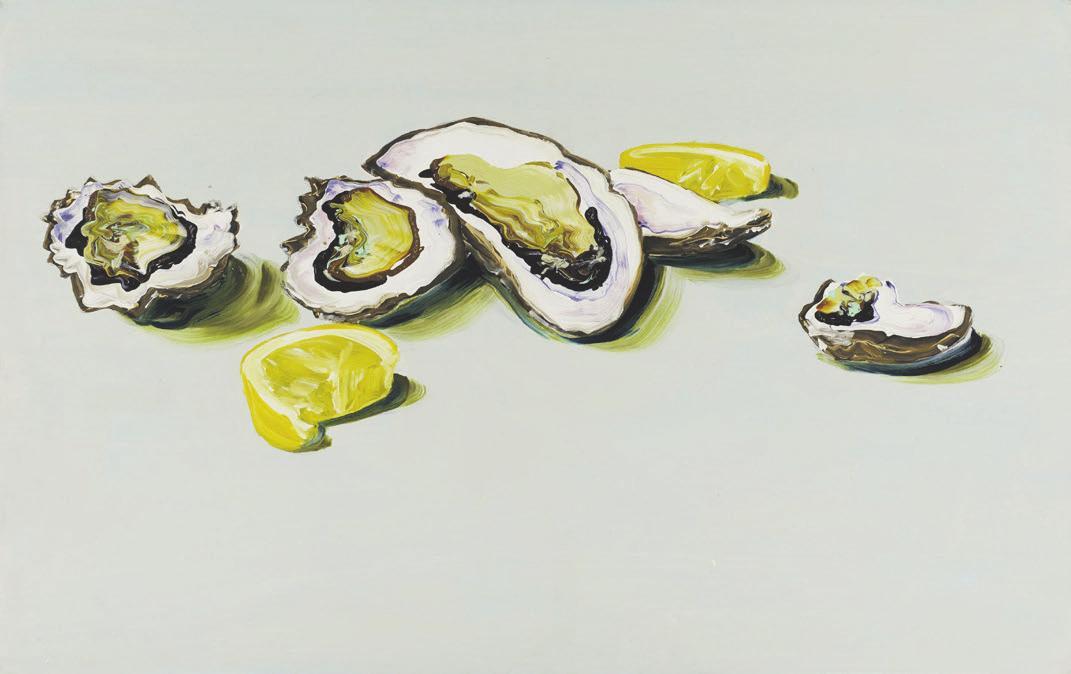 Cornelius Völker, Austern 2-II, 2002. Foto: Van Ham