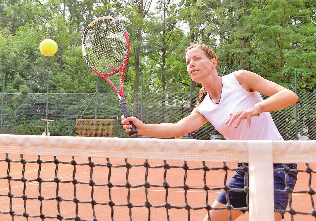 Auch Silvia Thölert, Jugendwartin beim TC Florentine Berkhöpen, ist wieder mit dabei. Foto: Archiv