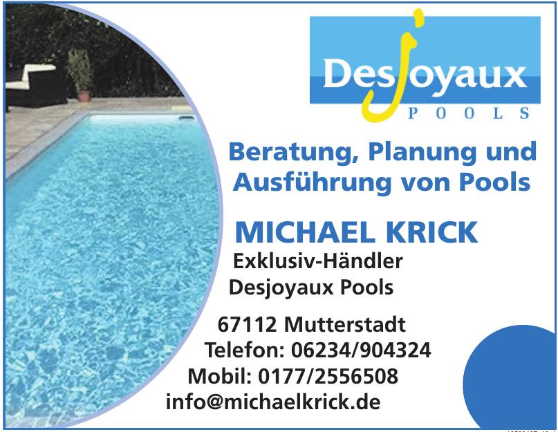 Michael Krick Exklusiv-Händler Desjoyaux Pools