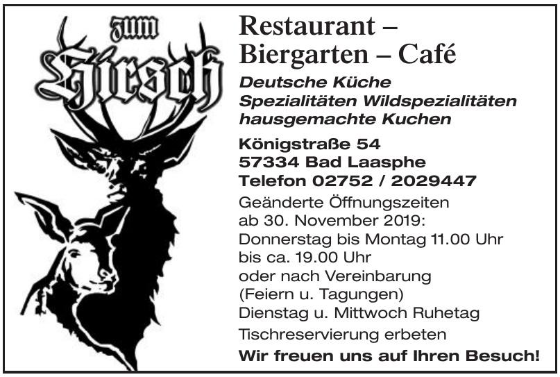 Restaurant Zum Hirsch