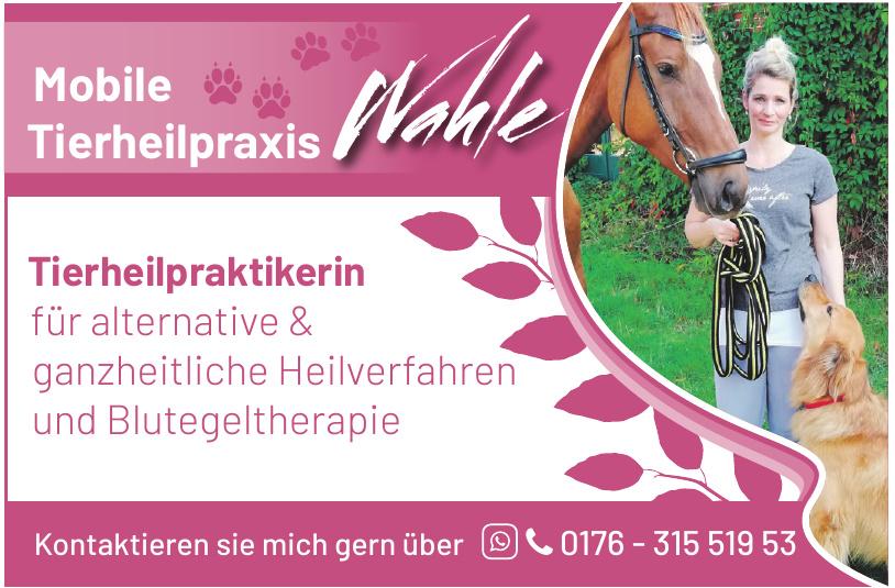 Mobile Tierheilpraxis Wahle