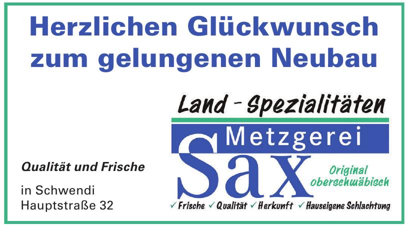 Land-Spezialitäten Metzgerei Sax