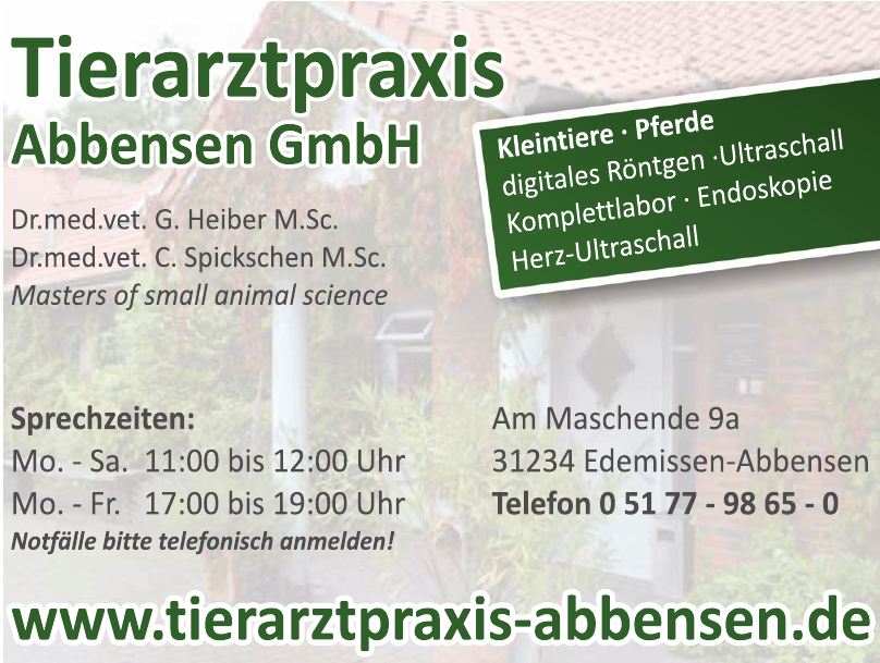 Tierarztpraxis Abbensen GmbH