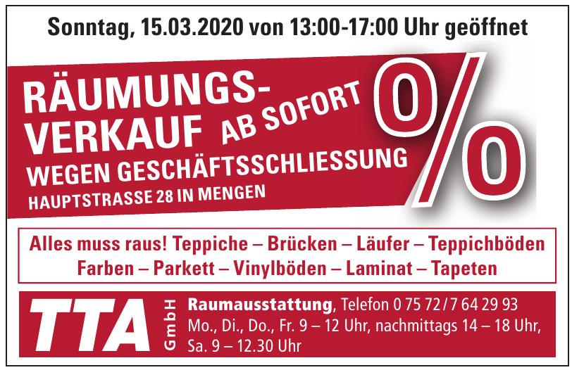 TTA GmbH Raumausstattung