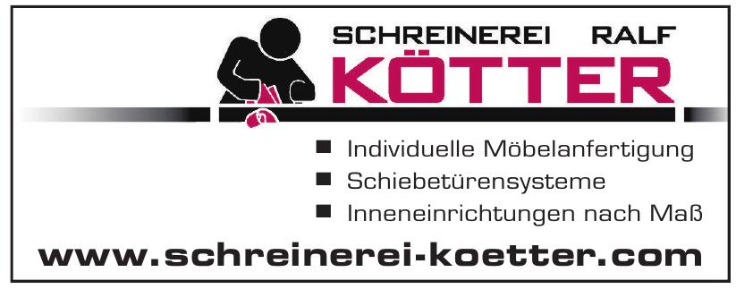 Schreinerei Ralf Kötter