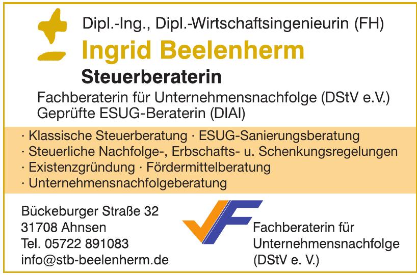 Ingrid Beelenherm Steuerberaterin