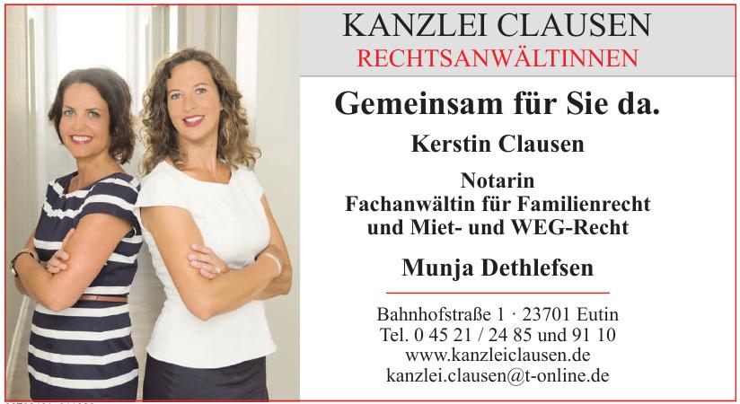 Rechtsanwaltskanzlei Clausen