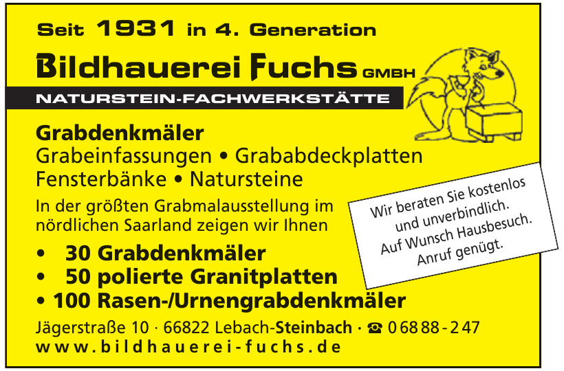 Bildhauerei Fuchs GmbH