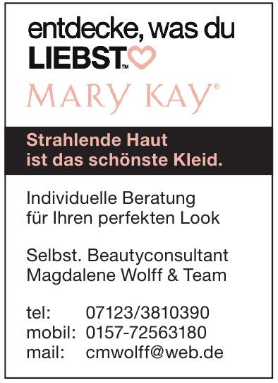 Selbst. Beautyconsultant Magdalene Wolff & Team
