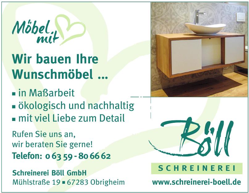 Schreinerei Böll GmbH