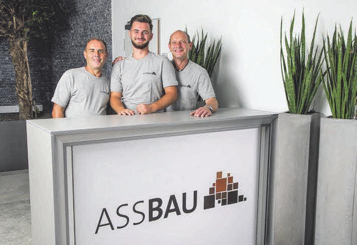Für Hausanschluss, Tiefbau und Elektro montage sind Ahmet Hasani, Atdhedon Hasani und Georg Ingerl die Experten.