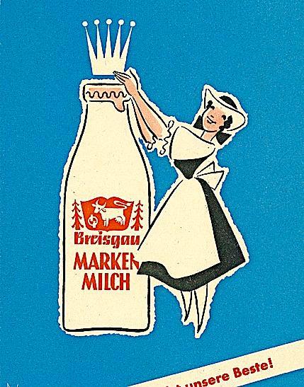 Eine Krone für Markenmilch aus dem Breisgau