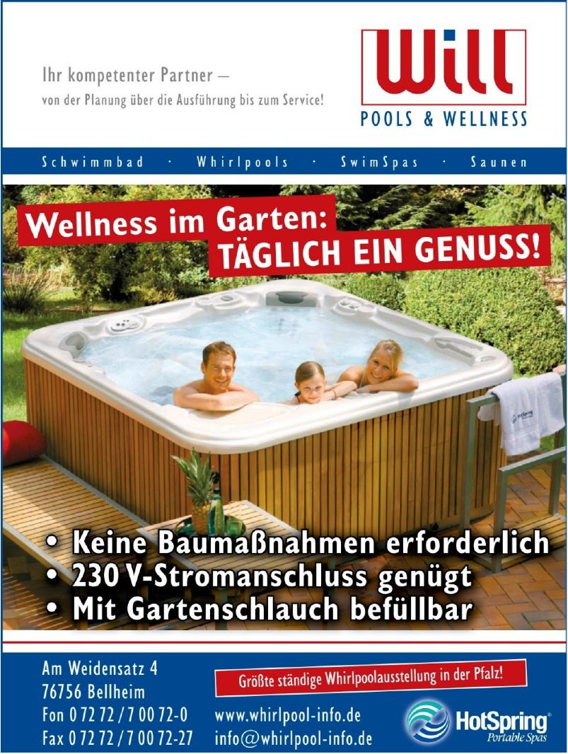 Will Pools & Wellness