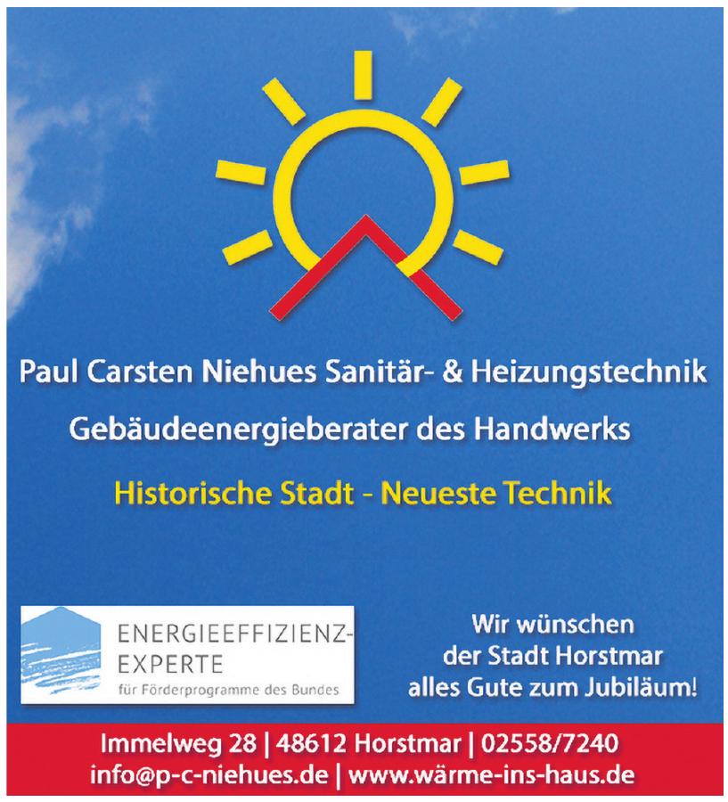 Paul Carsten Niehues Meister im Installateur- und Heizungsbauer-Handwerk
