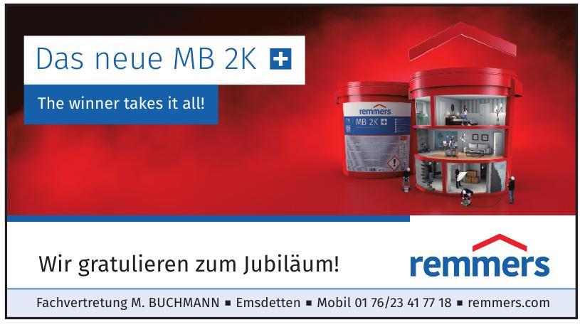 Remmers Fachvertretung M. Buchmann