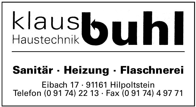 Klaus Buhl Haustechnik