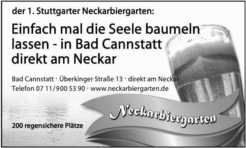 Neckarbiergarten