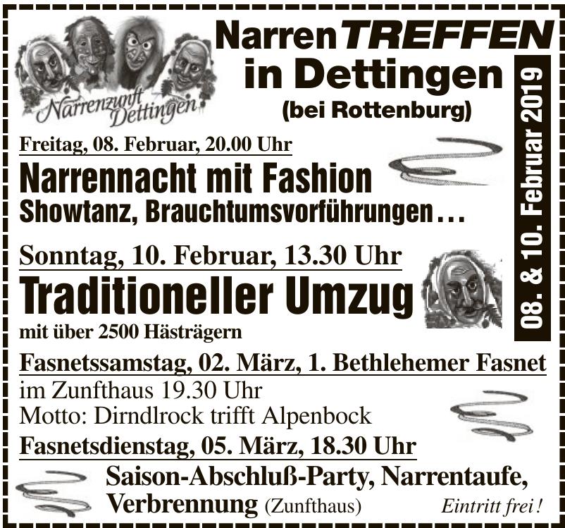 Narrenzunft Dettingen 1990 e.V.