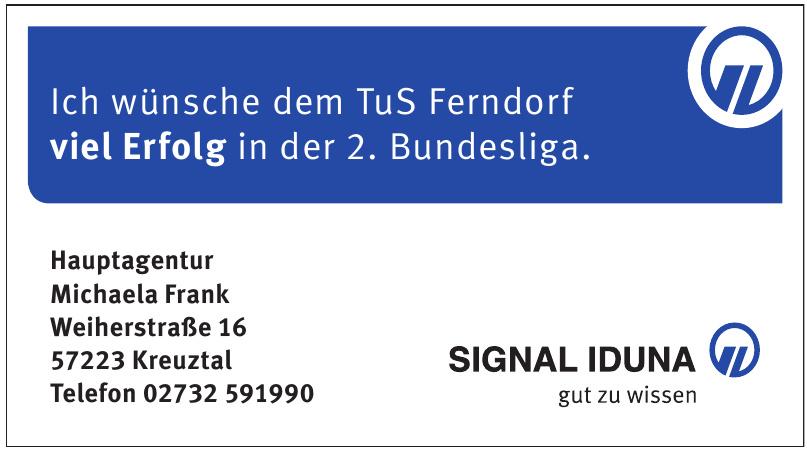 Signal Iduna - Michaela Frank
