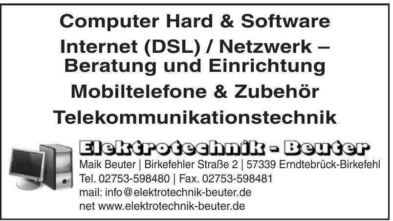 Elektrotechnik Beuter
