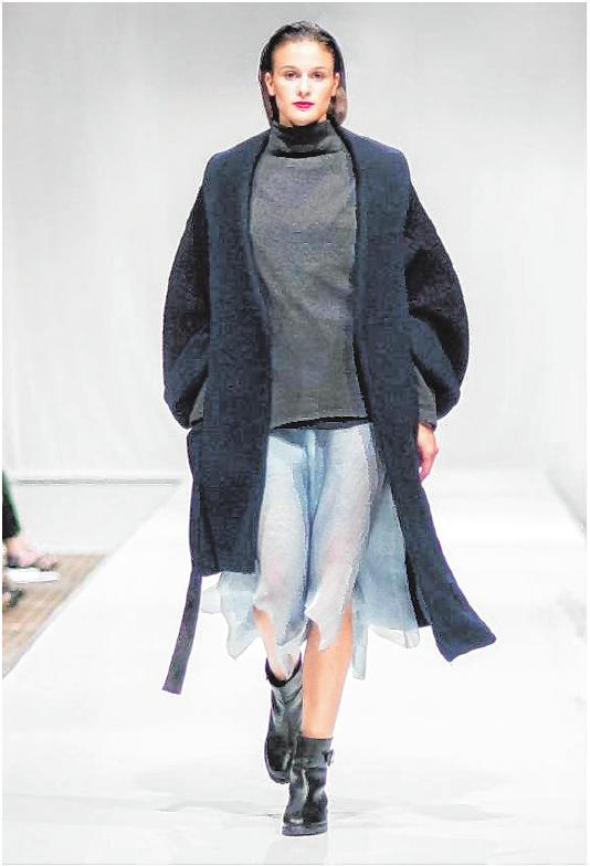 Impressionen aus der Mode- und Grafikdesignschule Fritz: Fashionshow der Schule
