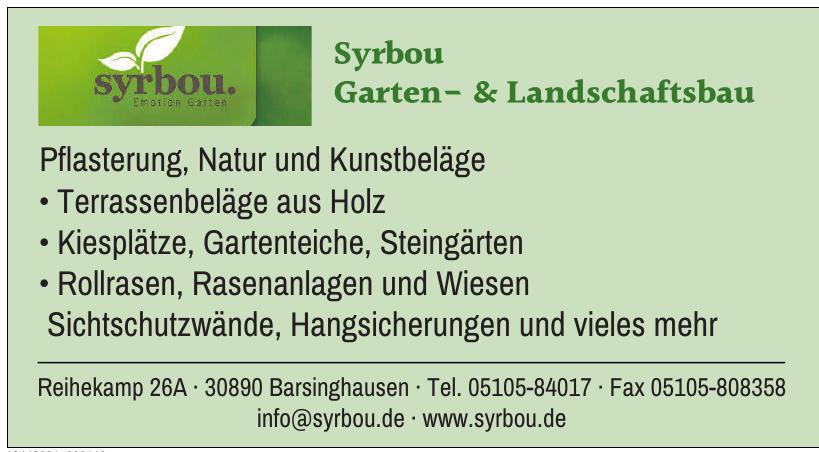 Syrbou Garten- & Landschaftsbau