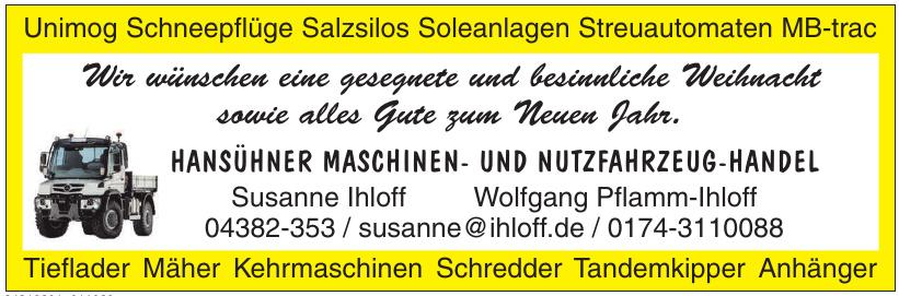 Hansühner Maschinen- und Nutzfahrzeug-Handel