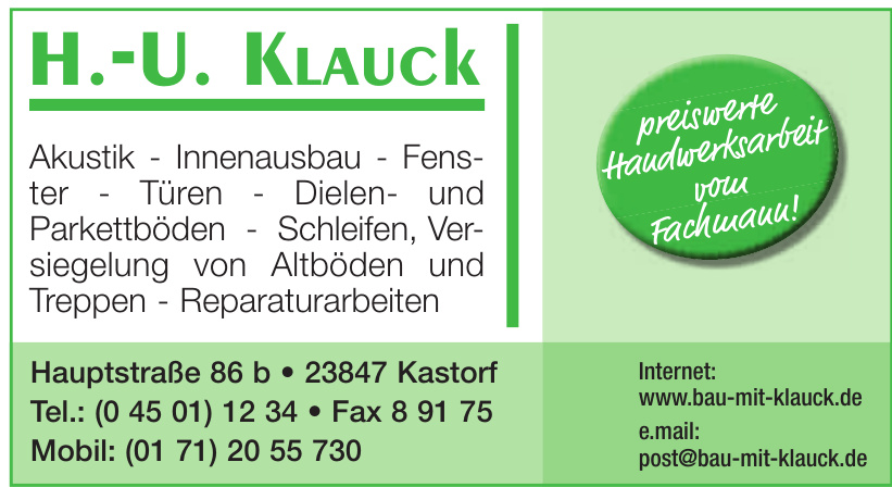 H.-U. Klauck