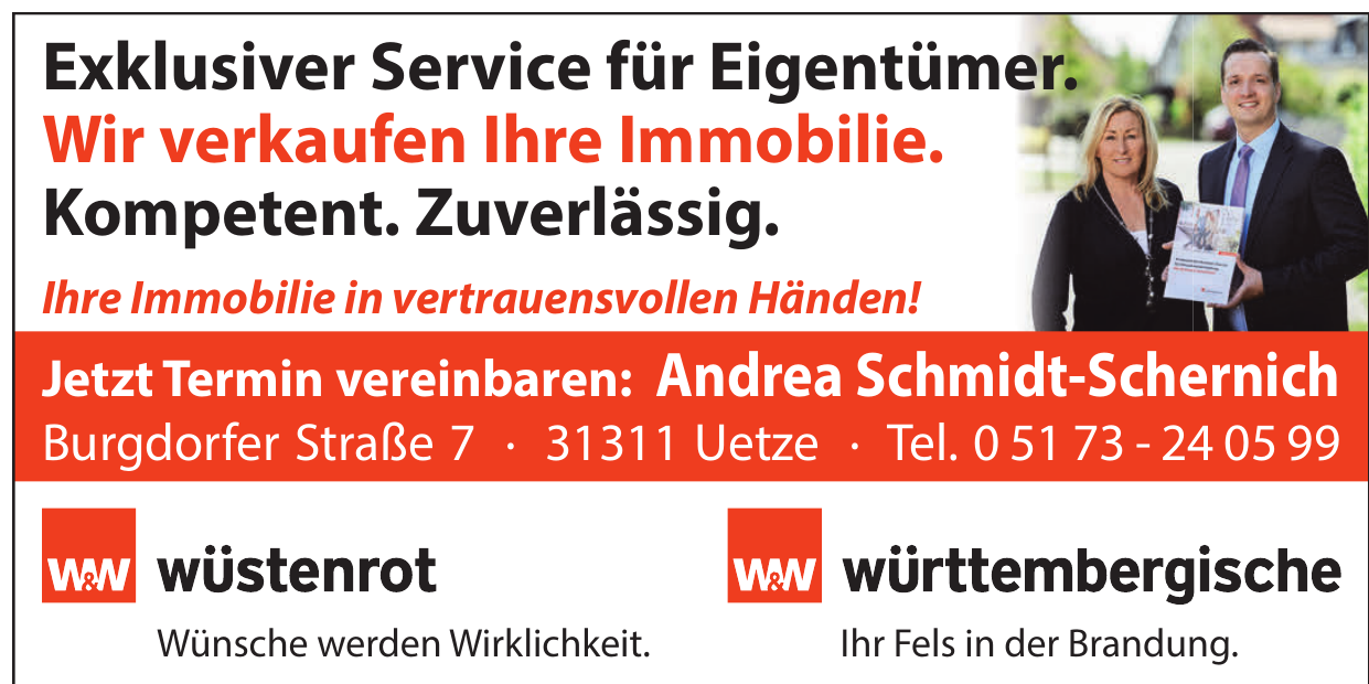 Versicherungsbüro Andrea Schmidt-Schernich - Ansprechpartner Harald Schmidt